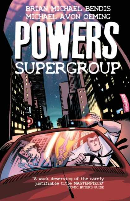 Bestselling Comics (2007) - Powers Vol. 4: Supergroup by Brian Michael Bendis