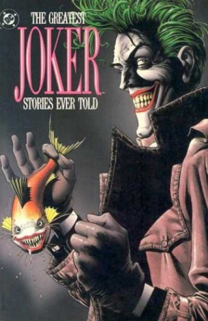 Bestselling Comics (2007) - Greatest Joker Stories Ever Told (DC Comics) by DC Comics - Dc - Joker - Greatest - Stories - Told