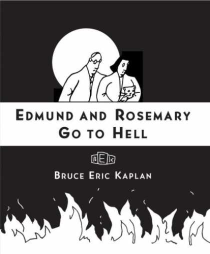 Bestselling Comics (2007) - Edmund and Rosemary Go to Hell: A Story We All Really Need Now More Than Ever by - Edmund And Rosemary - Got To Hell - Cat - Moon - Couple