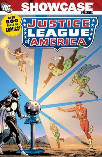 Bestselling Comics (2007) - Showcase Presents: Justice League of America, Vol. 1 by Gardner Fox - Showcase - Justise - League - America - Flash