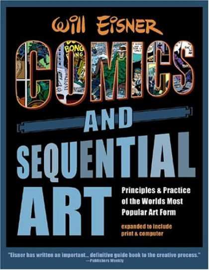Bestselling Comics (2007) - Comics & Sequential Art by Will Eisner - Poster - Comic Art - Guide Book - Art Book - Print And Pc