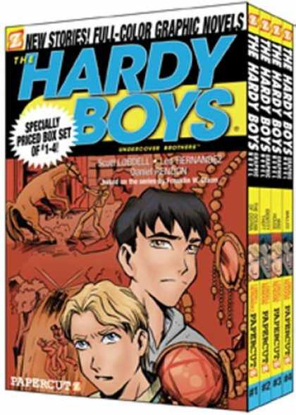 Bestselling Comics (2007) - The Hardy Boys Boxed Set: Volumes 1-4 (Hardy Boys Graphic Novels: Undercover Bro