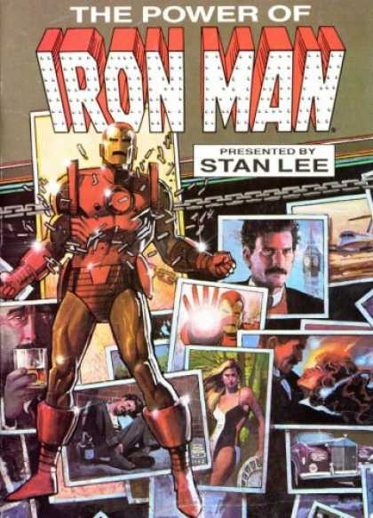 Bestselling Comics (2007) - Iron Man: Demon in a Bottle by David Michelinie - Old Car - Steel Man - Chain - Sexy Lady - Drug Man