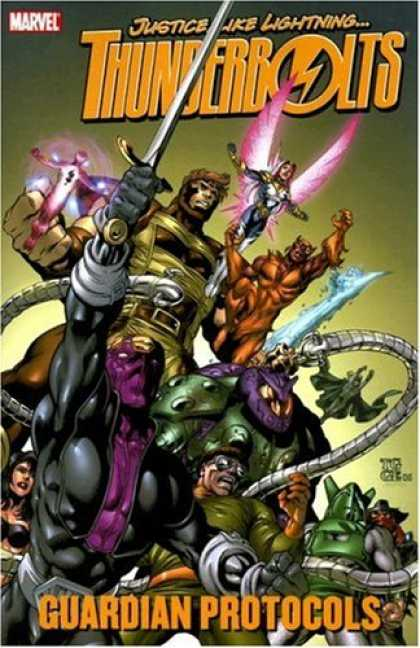 Bestselling Comics (2007) - Thunderbolts: Guardian Protocols TPB (Thunderbolts) by Fabian Nicieza - Thunder - Lightning - Justice - Fantastia - Boy