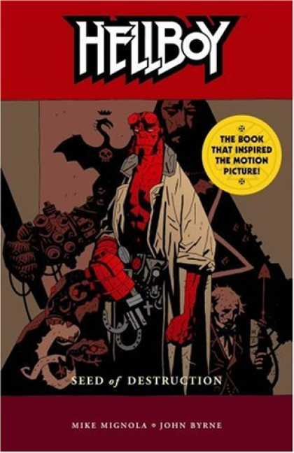 Bestselling Comics (2007) - Hellboy Volume 1: Seed of Destruction (Hellboy (Graphic Novels)) by Mike Mignola