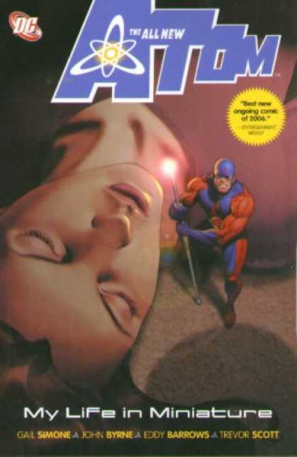 Bestselling Comics (2007) - Atom: My Life in Miniature (Atom) by Gail Simone - Staff - My Life In Miniature - Asleep - Shrinking - Best New Ongoing Comic Of 2006
