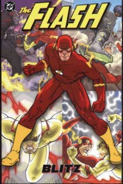 Bestselling Comics (2007) - The Flash: Blitz (Titan Books UK Edition) by Geoff Johns