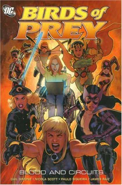 Bestselling Comics (2007) - Birds of Prey Vol. 6: Blood and Circuits by Gail Simone