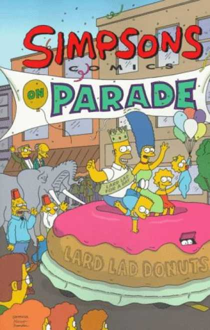 Bestselling Comics (2007) - Simpsons Comic on Parade by Matt Groening