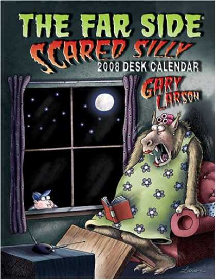 Bestselling Comics (2007) - The Far Side: Scared Silly: 2008 Desk Calendar by Gary Larson