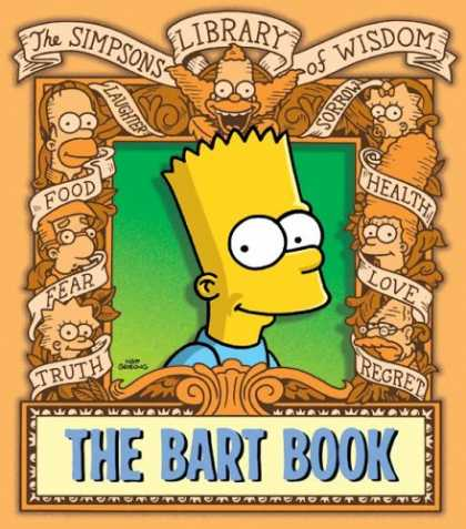 Bestselling Comics (2007) - The Bart Book: The Simpsons Library of Wisdom by Matt Groening