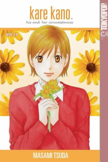 Bestselling Comics (2007) - Kare Kano: His and Her Circumstances, Vol. 19 by Masami Tsuda - Manga - Flowers - Dandelions - Big Eyes - Tokyopop