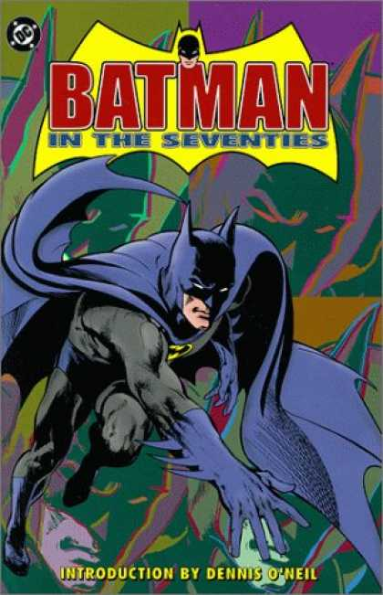 Bestselling Comics (2007) - Batman in the Seventies by Dennis O'Neil - Batman - Dennis Oneil - Leaping - Dark - Shadows