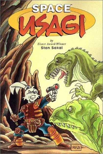 Bestselling Comics (2007) - Space Usagi by Stan Sakai - Space - Usagi - Stan Sakal - Gun - Sword