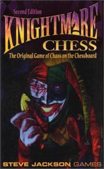 Bestselling Comics (2007) - Knightmare Chess: The Original Game of Chaos on The Chessboard by Steve Jackson