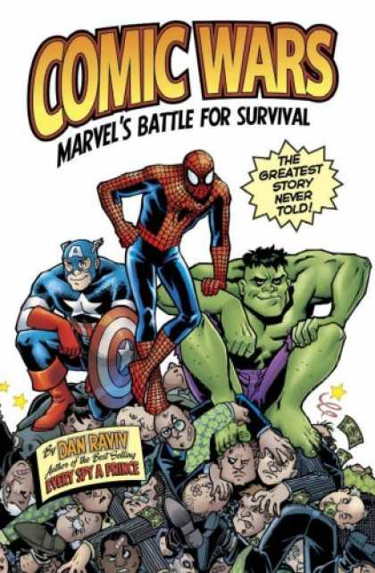 Bestselling Comics (2007) - Comic Wars: Marvels Battle For Survival by Dan Raviv - Superheros - We Never Lose - Pals Forever - Justice For All - Law U0026 Order