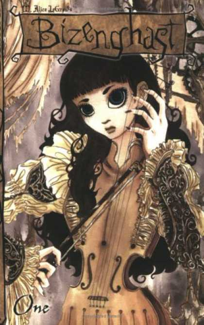 Bestselling Comics (2007) - Bizenghast Volume 1 (Bizenghast) by M. Alice Legrow - Lady - Pretty - Finger - Arm - Eyes