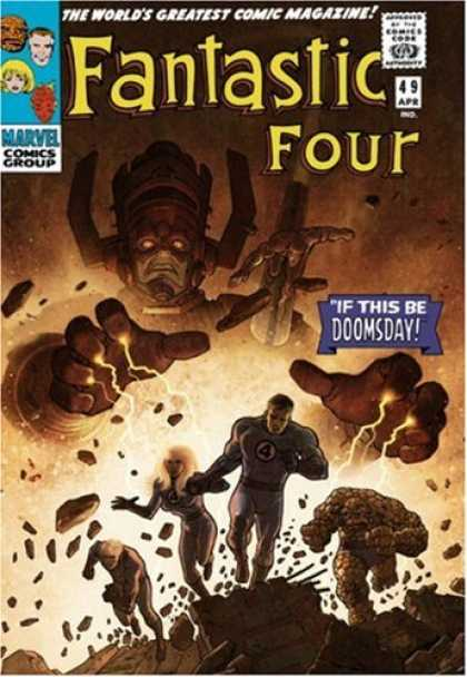 Bestselling Comics (2007) - Fantastic Four Omnibus Volume 2 HC (Variant) (Fantastic Four) by Stan Lee