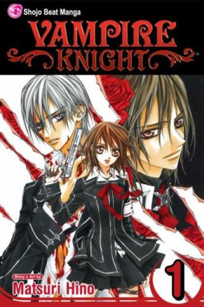 Bestselling Comics (2007) - Vampire Knight, Volume 1 by Matsuri Hino