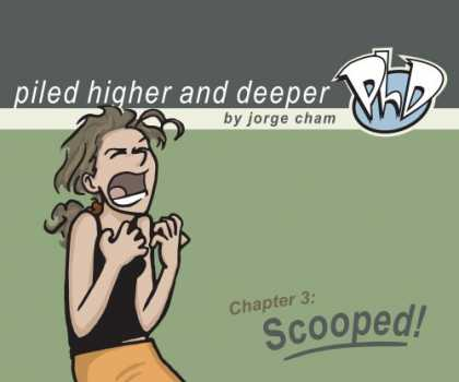 Bestselling Comics (2007) - Scooped! The Third Piled Higher and Deeper Comic Strip Collection by Jorge Cham