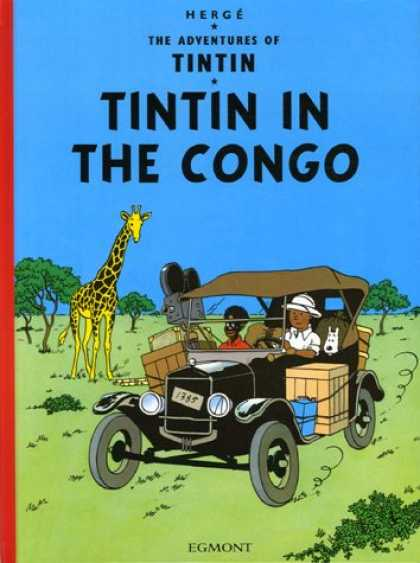 Bestselling Comics (2007) - Tintin in the Congo by Herge