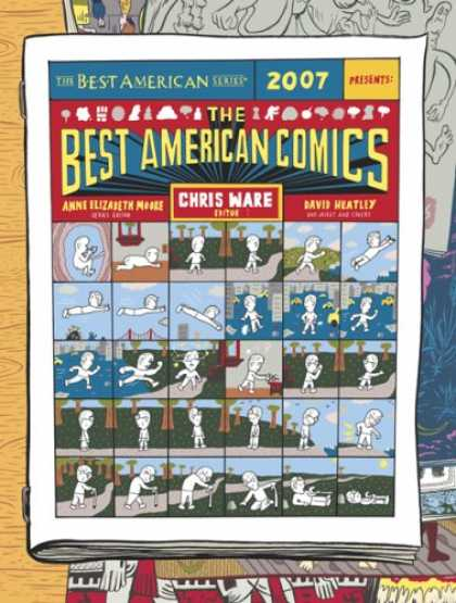 Bestselling Comics (2007) - The Best American Comics 2007 (The Best American Series)