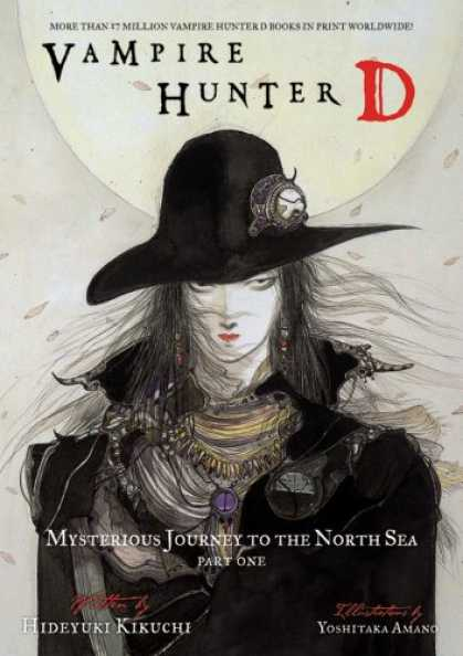 Bestselling Comics (2007) - Vampire Hunter D Volume 7: Mysterious Journey to the North Sea, Part One (Vampir - Vampire Hunter D - Mysterious Journey To The North Sea - Part One - Black Hat - Purple Necklace