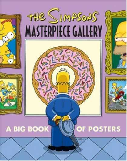Bestselling Comics (2007) - The Simpsons Masterpiece Gallery: A Big Book of Posters (Simpsons (Harper)) by M - The Simpsons Masterpiece Gallery - Big Book Of Posters - Simpsons Posters - Homer Simpson - Simpsons Gallery