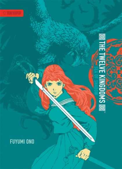 Bestselling Comics (2007) - Twelve Kingdoms, The - Hardcover Edition Volume 1: Sea of Shadow by Fuyumi Ono - The Twelve Kingdoms - Fuyumi Ono - Woman - Sword - Woman With Sword