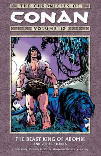 Bestselling Comics (2007) - The Chronicles of Conan Volume 12: The Beast King of Abombi and Other Stories (C