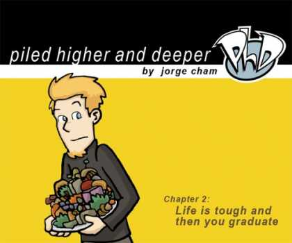 Bestselling Comics (2007) - Life is tough and then you graduate: The second Piled Higher and Deeper Comic St - Boy - Life Is Tough And Then You Graduate - Jorge Cham - Piled Higher And Deeper - Phd