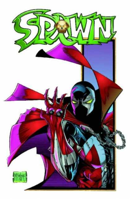 Bestselling Comics (2007) - Spawn Collection Volume 3 (Spawn Collection) by Todd McFarlane - Macfarlane - Red And Purple - Spawn - Intense - Green And White Logo
