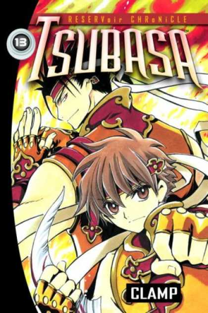 Bestselling Comics (2007) - Tsubasa: Reservoir Chronicle, Volume 13 by Clamp - Saturday Morning Cartoon - Lightning - Strike - Fast - Dynamic Duo