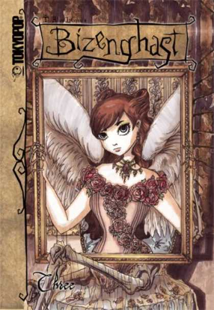 Bestselling Comics (2007) - Bizenghast Volume 3 (Bizenghast) by M. Alice Legrow - Fairy - Girl - Wings - Bones - Picture Frame