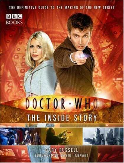 Bestselling Comics (2007) - Doctor Who: The Inside Story (BBC Books) by Gary Russell - Dr Who - The Inside Story - Gary Russell - David Tennant - Light