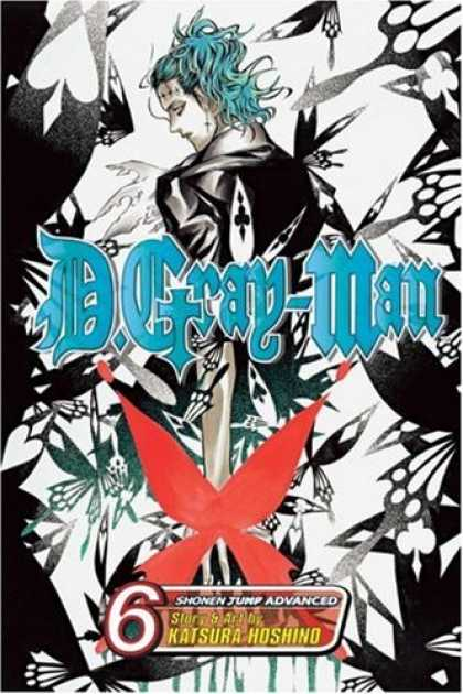 Bestselling Comics (2007) - D.Gray-man, Volume 6 by Hoshino Katsura - Lady - Hair - Head - Ribbon - Color