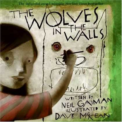 Bestselling Comics (2007) - The Wolves in the Walls by Neil Gaiman