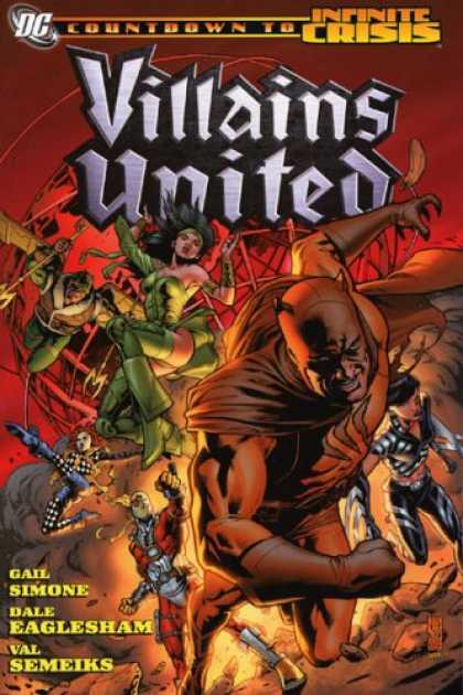 Bestselling Comics (2007) - Villains United (Countdown to Infinite Crisis) by Gail Simone
