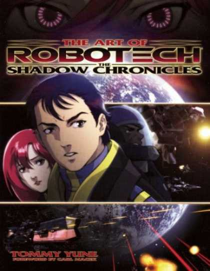 Bestselling Comics (2007) - Art of Robotech: The Shadow Chronicles by Tommy Yune