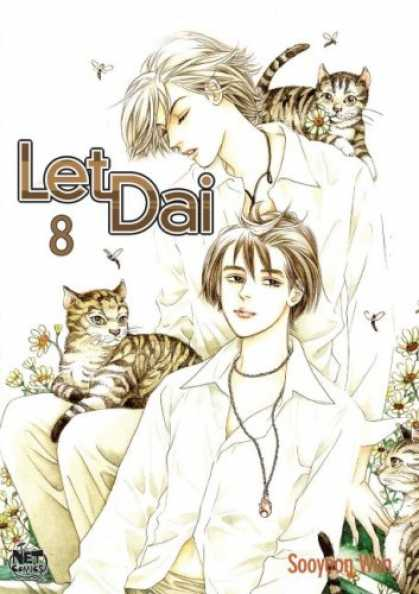 Bestselling Comics (2007) - Let Dai: Volume 8 (Let Dai) by Sooyeon Won - Let Dai - Cat - Flower - Boys - Necklaces