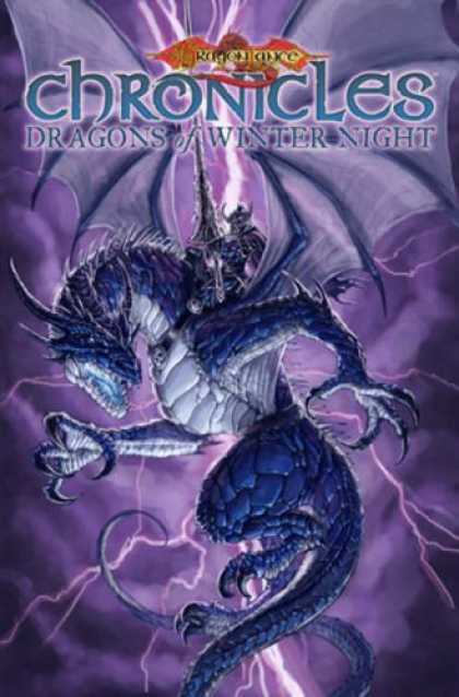 Bestselling Comics (2007) - Dragonlance - Chronicles Volume 2: Dragons Of Winter Night (Dragonlance Chronicl - Dragon - Lightning - Wings - Scales - Long Tail