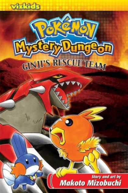 Bestselling Comics (2007) - Pokemon: Mystery Dungeon by VIZ Media