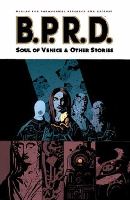 Bestselling Comics (2007) - B.P.R.D. Volume 2: The Soul of Venice & Other Stories by Mike Mignola