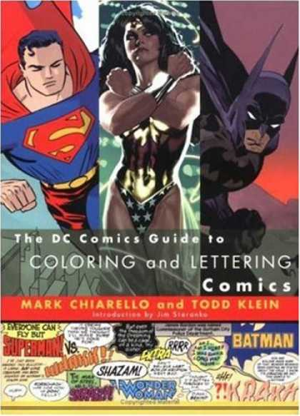 Bestselling Comics (2007) - DC Comics Guide to Coloring and Lettering Comics by Mark Chiarello