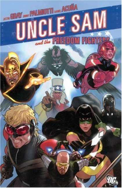 Bestselling Comics (2007) - Uncle Sam and the Freedom Fighters by Justin Gray - Uncle Sam - Freedom Fighter - Flying - Heroes - Wings