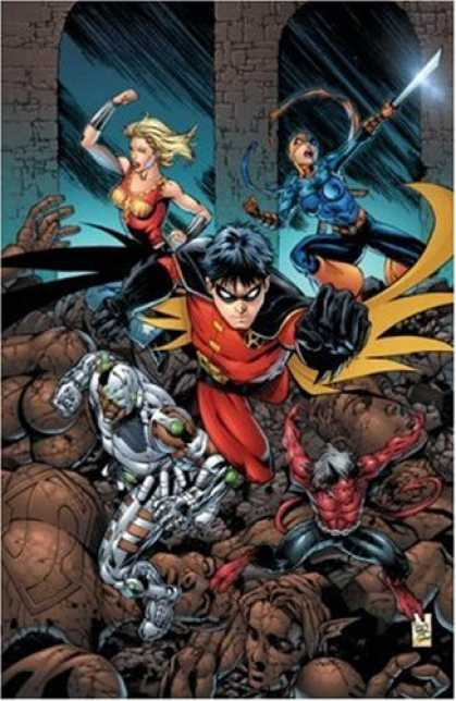 Bestselling Comics (2007) - Teen Titans, Vol. 6: Titans Around the World by Geoff Johns