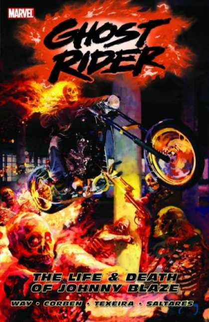 Bestselling Comics (2007) - Ghost Rider Volume 2: The Life & Death Of Johnny Blaze TPB by Daniel Way