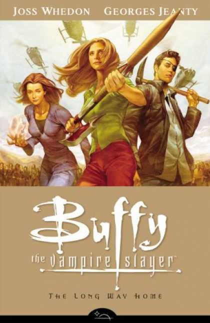 Bestselling Comics (2008) - The Long Way Home (Buffy the Vampire Slayer Season Eight, Vol. 1) by Joss Whedon