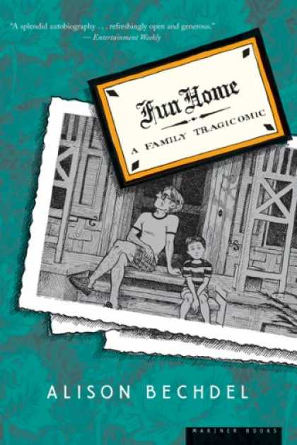 Bestselling Comics (2008) - Fun Home: A Family Tragicomic (Edition 001) by Alison Bechdel