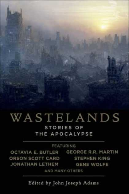 Bestselling Comics (2008) - Wastelands: Stories of the Apocalypse by Stephen King - Sunset - Building - Smoke - Fogs - Light
